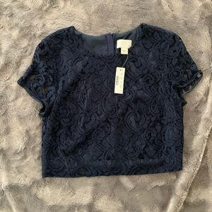 NWT JCrew lace top